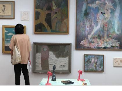 レポート|梅津庸一キュレーション展 フル・フロンタル 裸のサーキュレイター